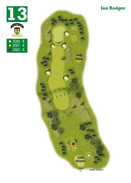 Elgin Golf Club Hole 13 - Ian Roger