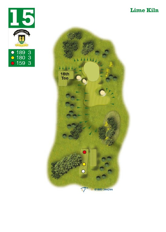 Elgin Golf Club Hole 15 - Lime Kiln