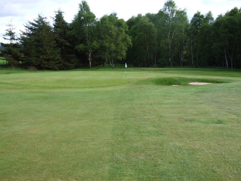 Elgin Golf Club Hole 2 - Birnie