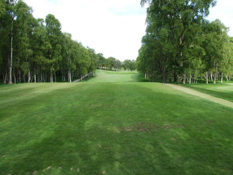 Elgin Golf Club Hole 4 - The Birches