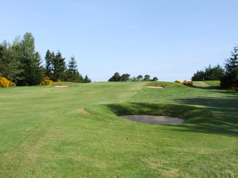 Elgin Golf Club Hole 5 - Hardhillock