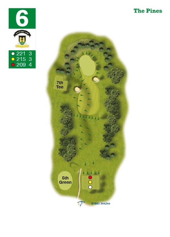 Elgin Golf Club Hole 6 - The Pines