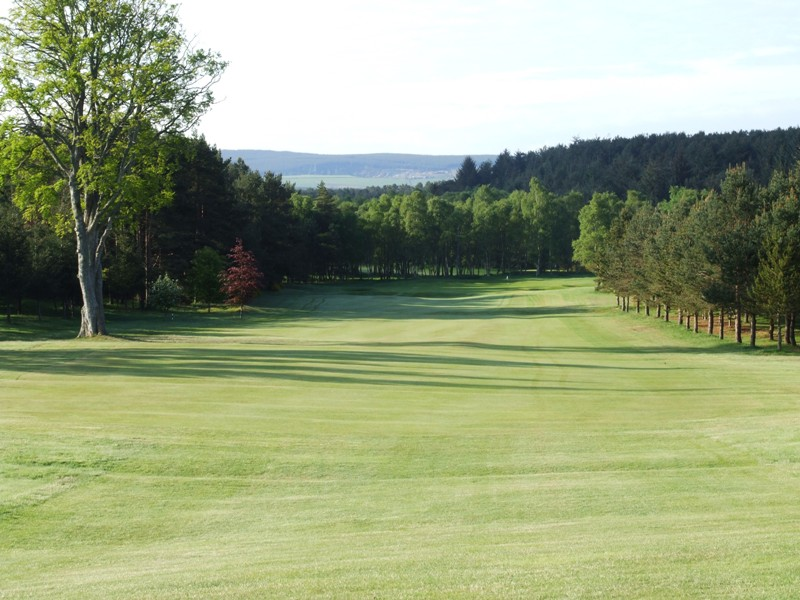 Elgin Golf Club Hole 8 - The Beeches