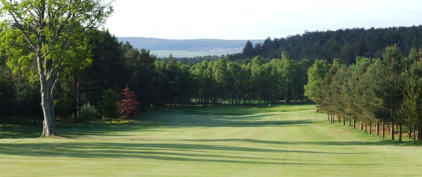 Elgin Golf Club 8th hole