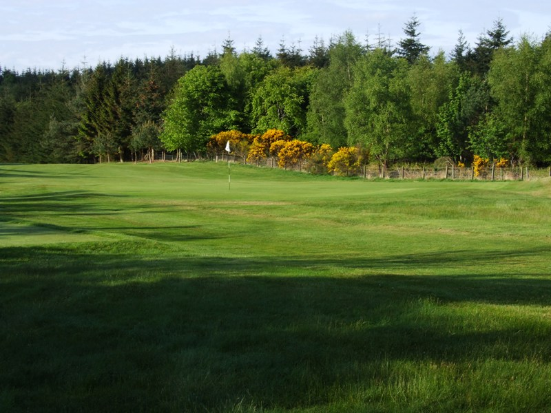 Elgin Golf Club Hole 9 - Clay Hole