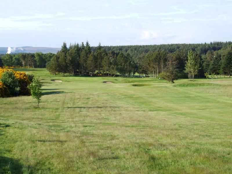 Elgin Golf Club Hole 12 - Old Home