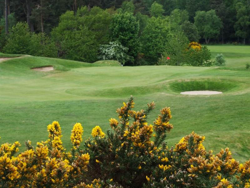 Elgin Golf Club Hole 15 - Lime Kiln