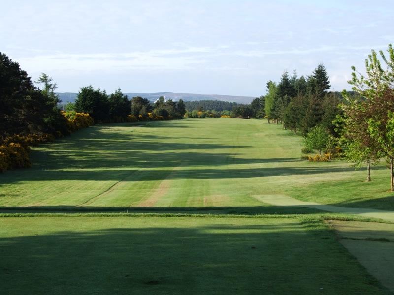 Elgin Golf Club Hole 1 - John Macpherson