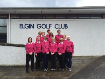 Ladies always welcome at Elgin Golf Club
